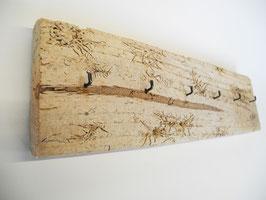 Schlüsslebrett aus Treibholz