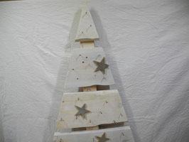 Adventskalender Tannenbaum aus Palettenholz