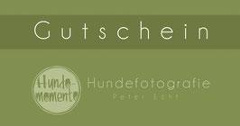 GUTSCHEIN HUNDEFOTOSHOOTING