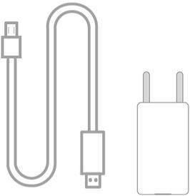 1 x Anio One/Anio3 Ladekabel & USB-Netzteil