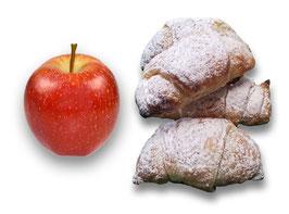 Saison-Gipfeli (mit Apfel)