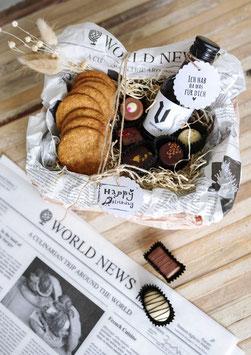 Butterbrotpapier / Einschlagpapier  Zeitungsmotiv, Zeitungspapier