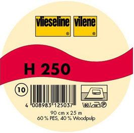 Vlieseline-H250 Weiß 0,5m