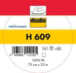 Vlieseline - H 609 Weiß 0,5m