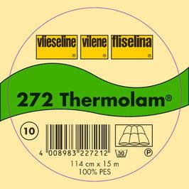 Vlieseline- 272 Thermolan Weiß 0,5m