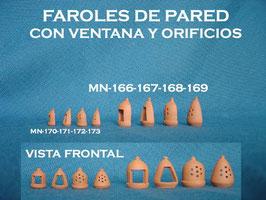 Faroles Pared