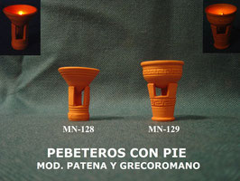 Pebeteros con Pie I