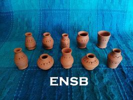 Jarrones ENSB Egipcios 10 mod. 3 cm.