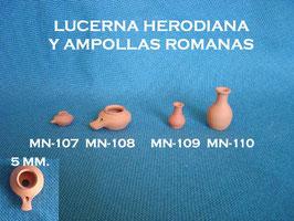 Lucerna y Ampollas