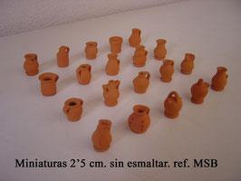 Juego MSB Surtidas 20 mod. 2'5 cm.