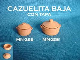 Cazuela Baja con Tapa
