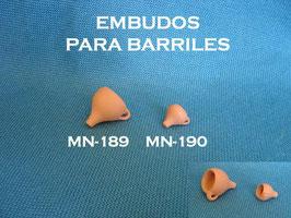 Embudos para Barriles