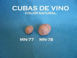 Cubas de Vino color natural