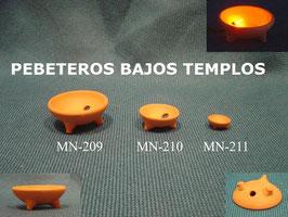 Pebeteros Bajos Templos