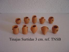 Tinajas TNSB Surtidas 10 mod. 3 cm.