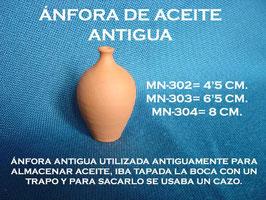 Ánfora Aceite Antigua
