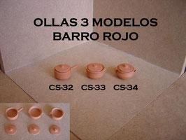 Ollas 3 Modelos