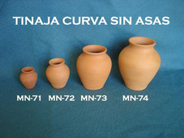 Tinaja Curva sin Asas