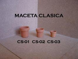 Maceta Clasica