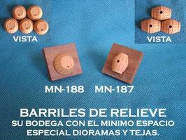 Barriles de Relieve