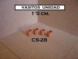 CS28 Vasitos 1'5 cm.