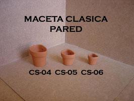 Maceta Clasica Pared