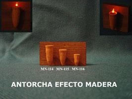 Antorcha Efecto Madera