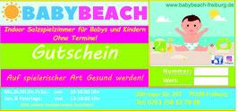 Babybeach 12 -er Karte