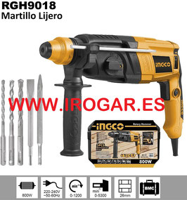 MARTILLO PERFORADOR LIGERO RGH9018