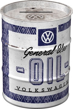 VW General Use Oil Ölfass Spardose