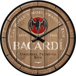 Bacardi Wanduhr