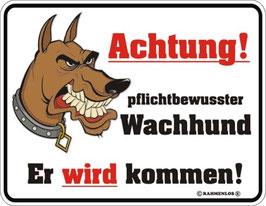 Achtung Wachhund