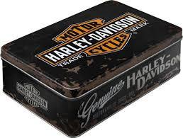 Harley Davidson Genuine Vorratsdose Flach