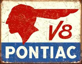 Pontiac V8 Logo