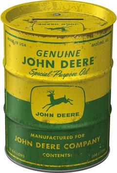 John Deere Ölfass Spardose