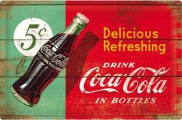 Coca Cola rot grün