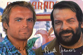 Bud Spencer & Terence Hill Autogramm