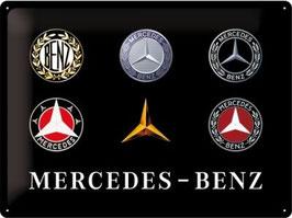 Mercedes Benz Classic Logos 30x40