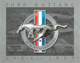 Ford Mustang Logo 35th Anniversary