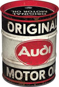 Audi Motor Oil Ölfass Spardose