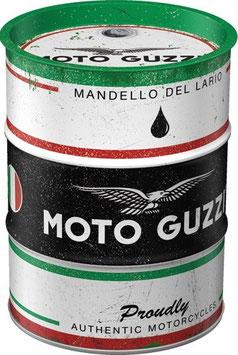 Moto Guzzi Ölfass Spardose