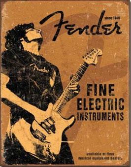 Fender fine electric instruments