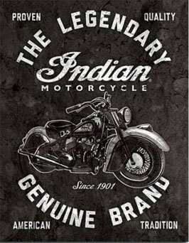 The Legendary Indian Motorcycle