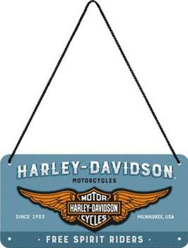 Harley Davidson Free Spirit Riders Hängeschild