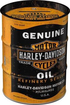 Harley Davidson Genuine Oil Ölfass Spardose