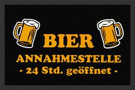 Bier Annahmestelle - 24h geöffnet Fussmatte