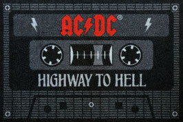 AC/DC Tape Highway to Hell Fussmatte