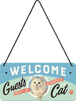 Welcome Guests must be approved by the Cat Hängeschild