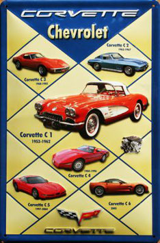 Chevrolet Corvette Collage
