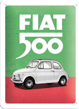 Fiat 500 Italian Colours